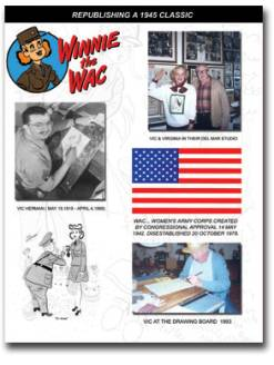 World War II Cartoons at Winnie the Wac Cartoon Book for Sale